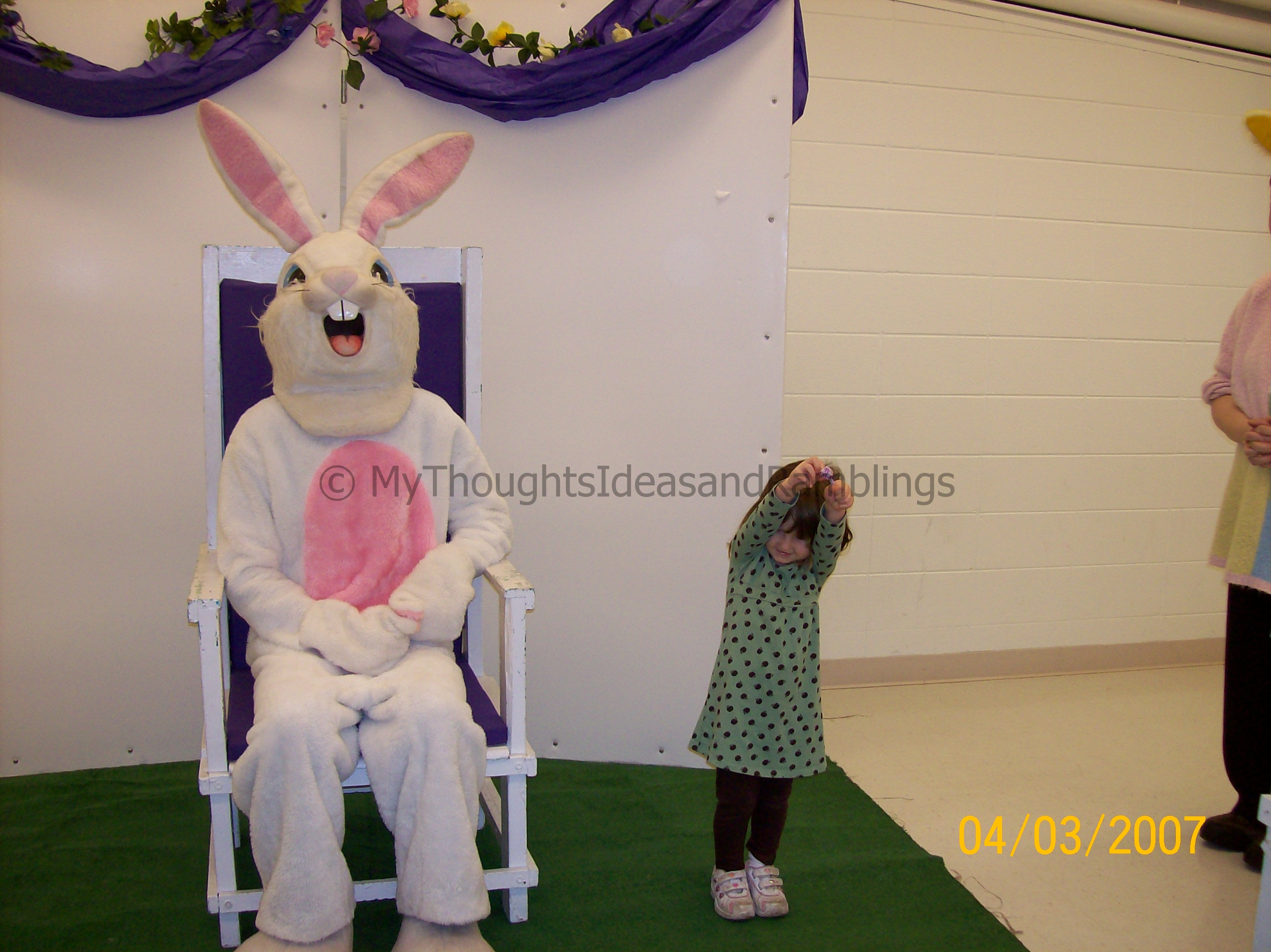 Madison and The Easter Bunny