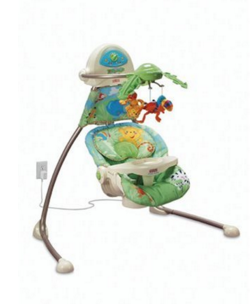 Fisher Price Open Top Cradle Swing
