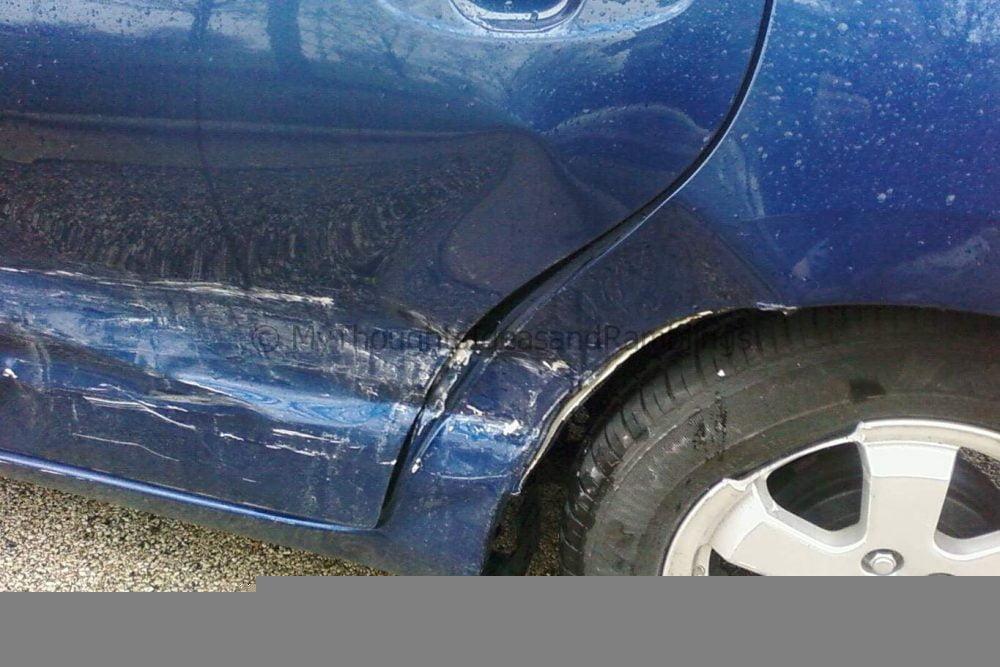 The Prius Got Hit!