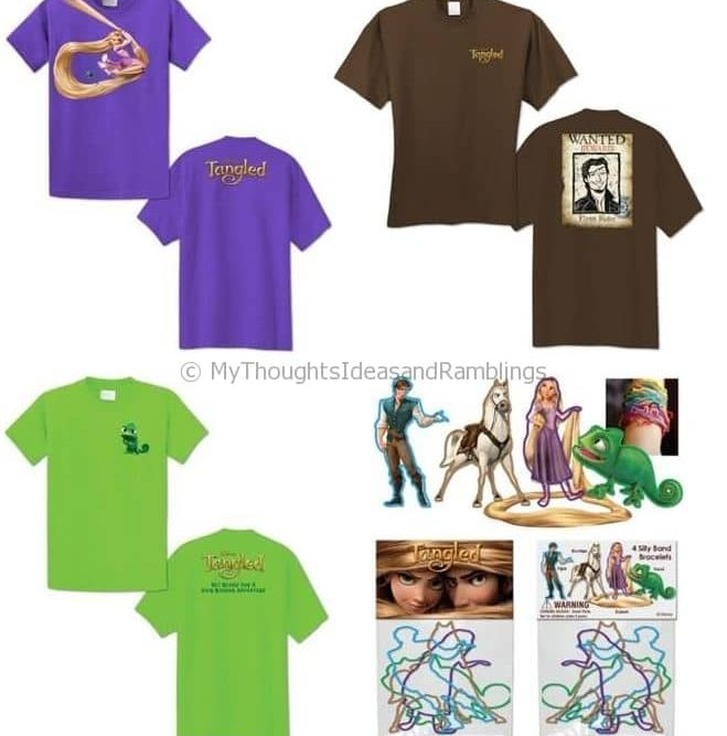 Tangled Sneak Peek and Giveaway