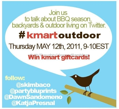 #KmartOutdoor Living Twitter Party
