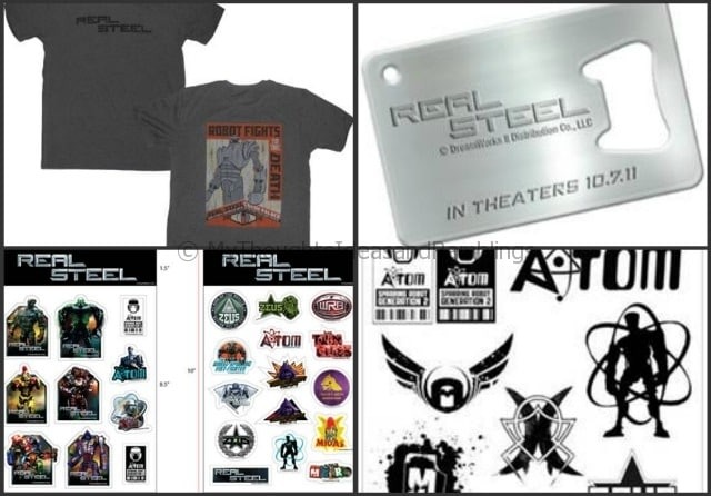 Real Steel Giveaway!