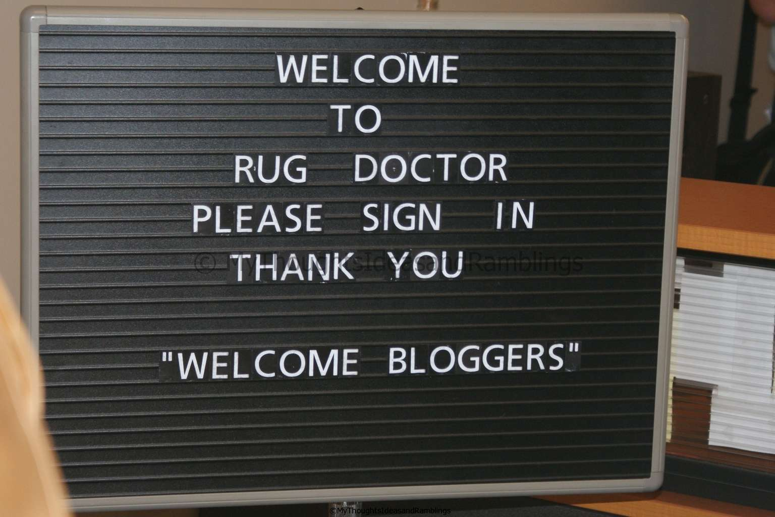 My Visit To Rug Doctor
