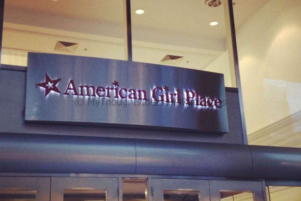 Mastercard Priceless Experience:  American Girl