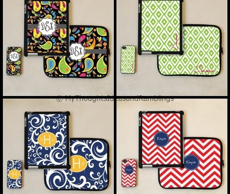 Personalized iPad & iPhone Accessory Set Giveaway (valued up to $58)