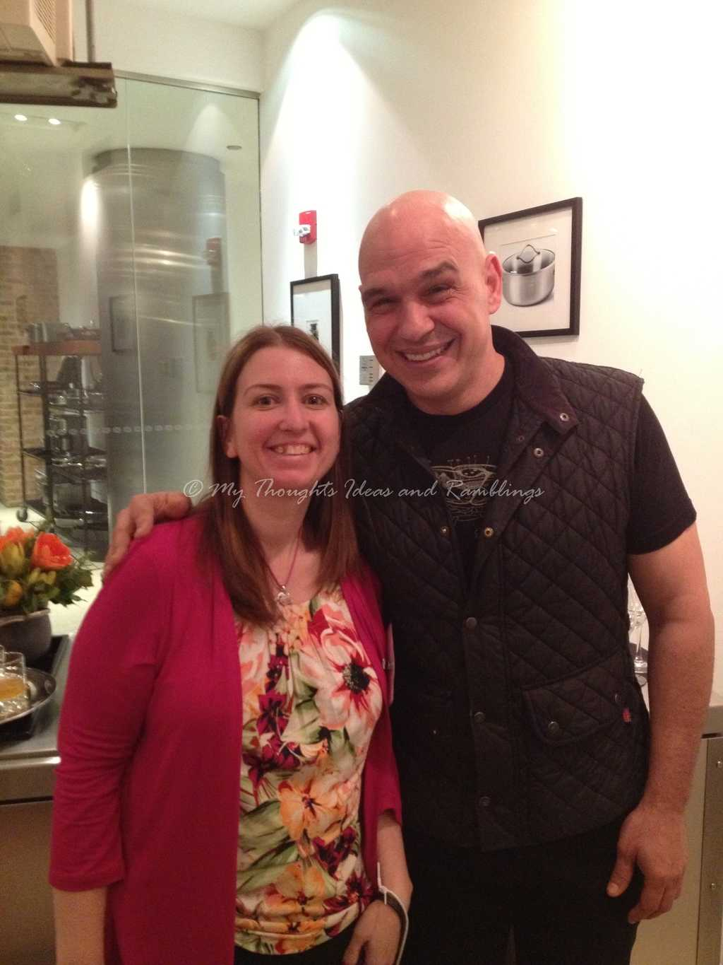 Wordless Wednesday:  Dinner With Michael Symon