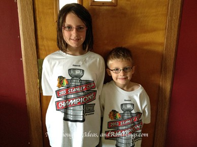 Wordless Wednesday:  Chicago BlackHawks Stanley Cup Champs!