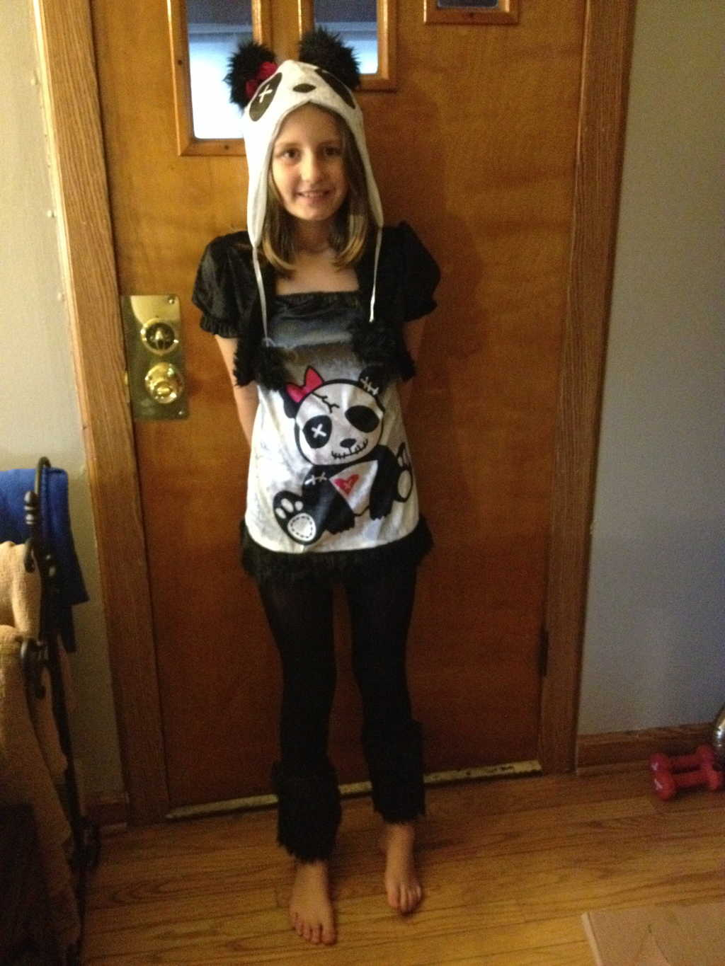 Pandamonium Tween Girls Costume
