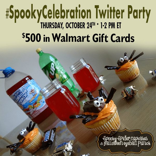 Join me at the #SpookyCelebration Twitter Party! #shop #cbias
