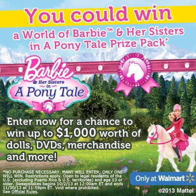 Barbie Great Deals, Fun, and You Can Win Too!