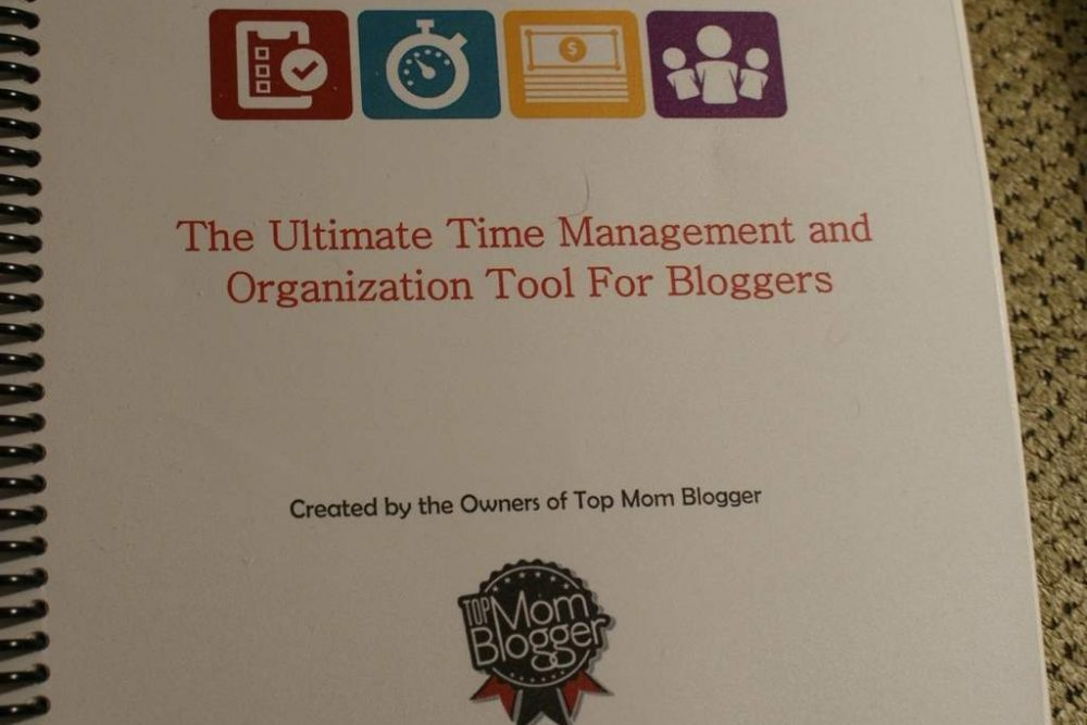 Review:  The Blogging Planner