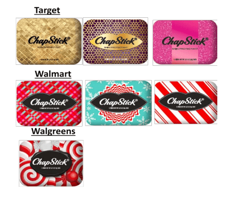 ChapStick Holiday Offerings