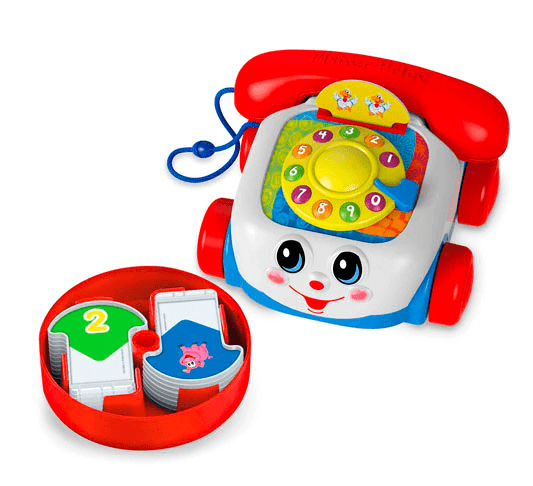 Blast from the past! There is now a Chatter Phone Talking Game for your kids to play