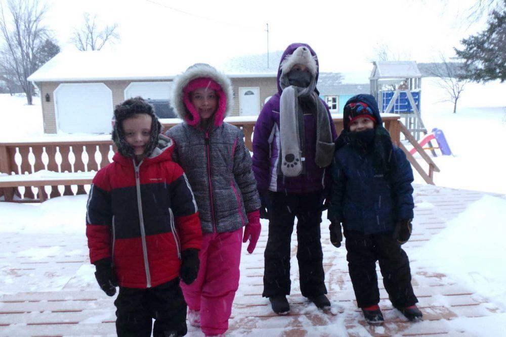 Wordless Wednesday:  Snow!