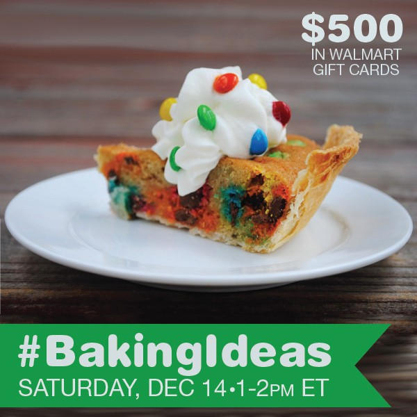 Join me at the #BakingIdeas Twitter Party