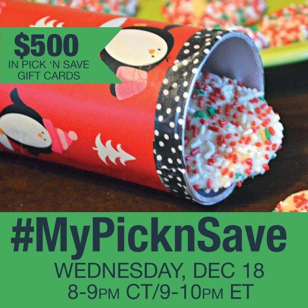 Twitter Party Alert! #MyPicknSave 12/18 9:00 PM ET – RSVP Here!