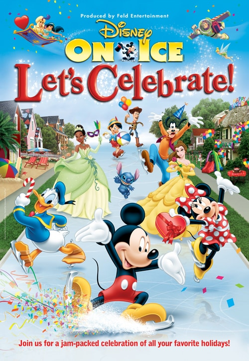 Disney On Ice presents Let's Celebrate #ChiDisneyOnIce