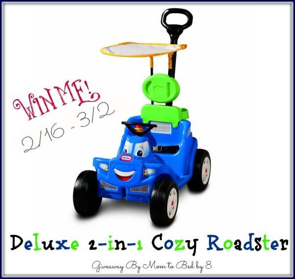 Deluxe 2-in-1 Cozy Roadster Giveaway!