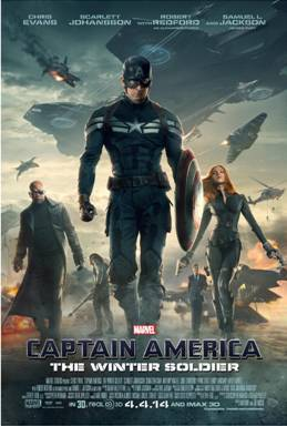 CAPTAIN AMERICA: THE WINTER SOLDIER – New Posters Now Available!!!