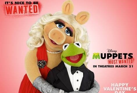 Happy Valentine's Day from MUPPETS MOST WANTED!!!