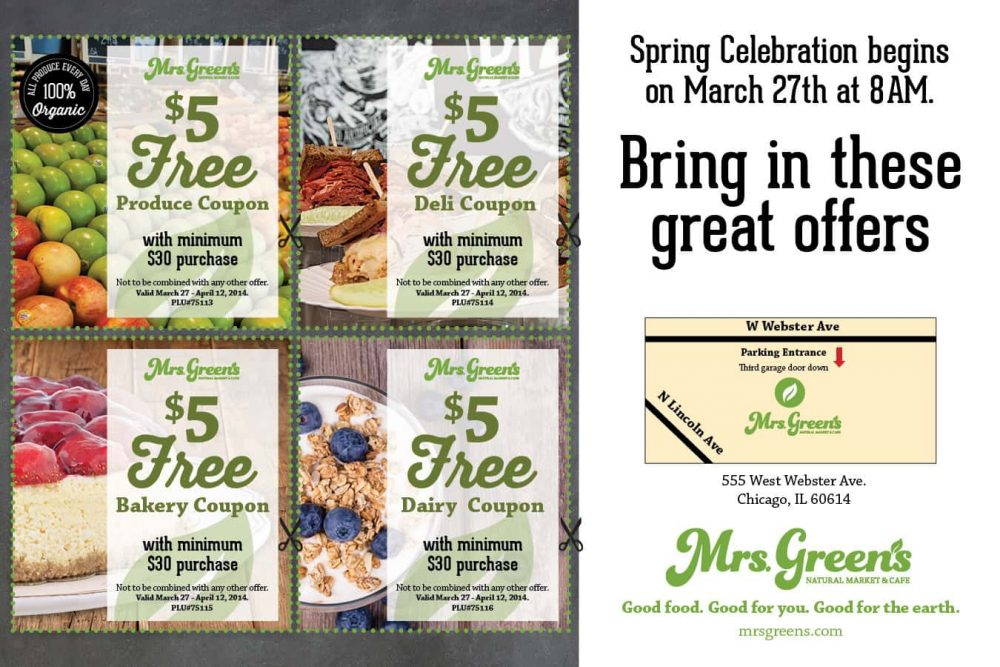 Mrs. Green's Natural Market $25 Giveaway! #GreenIsGood