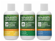 Spring Cleaning with Seventh Generation's NEW Concentrated Cleaners