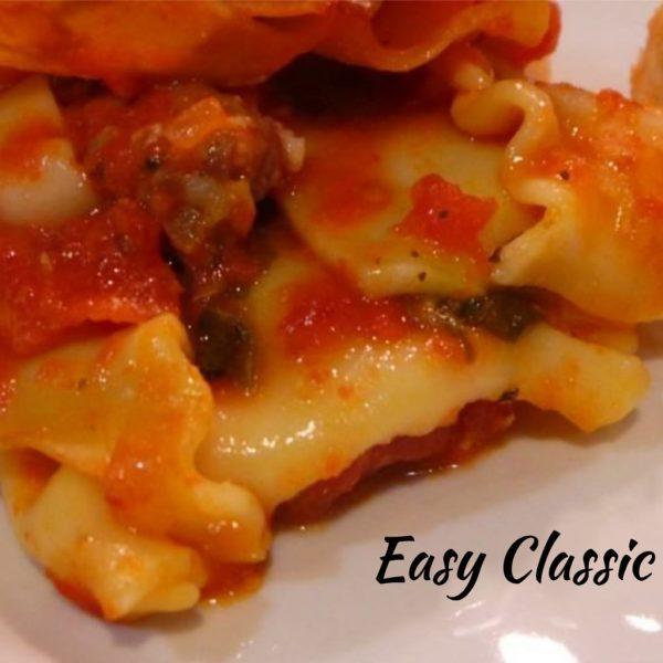 Red Gold Lasagna Recipes
