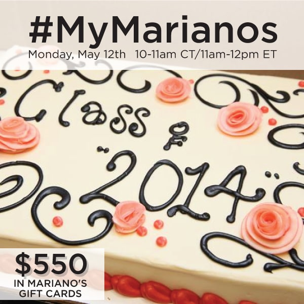 RSVP for the #MyMarianos Twitter Party 5/12