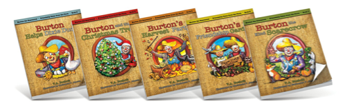 Burton the Scarecrow Giveaway!