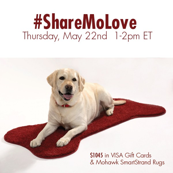 RSVP for the #ShareMoLove Twitter Party 5/22