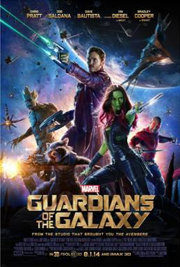 Marvel's GUARDIANS OF THE GALAXY – New Poster and Live Q&A with the Cast and Exclusive Trailer Launch on Facebook!!!