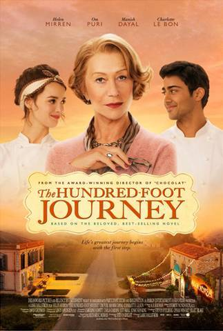 THE HUNDRED-FOOT JOURNEY – Poster and Recipe now available!!!
