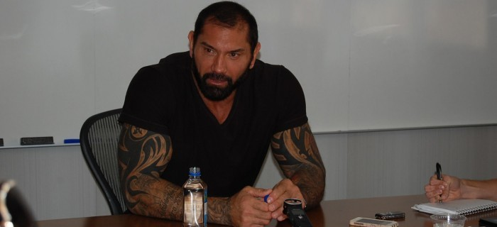 From Bautista To Destroyer:  Dave Bautista Interview #GuardiansOfTheGalaxyEvent