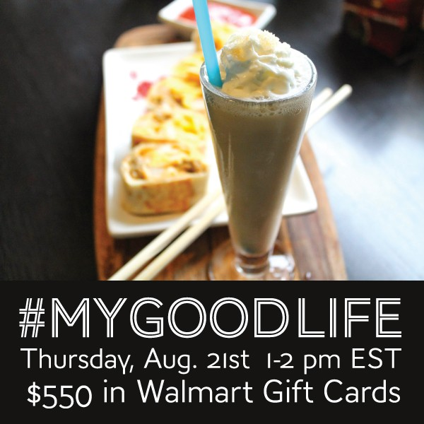 RSVP for the #MyGoodLife Twitter Party 8/21 #shop