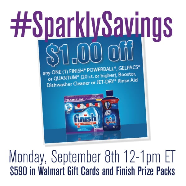 RSVP For #SparklySavings Twitter Party 9/8