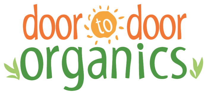 Door to Door Organics Logo 1