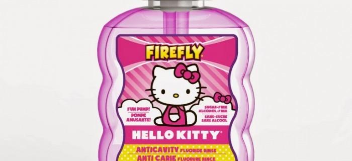 Firefly Hello Kitty Anticavity Mouth Rinse