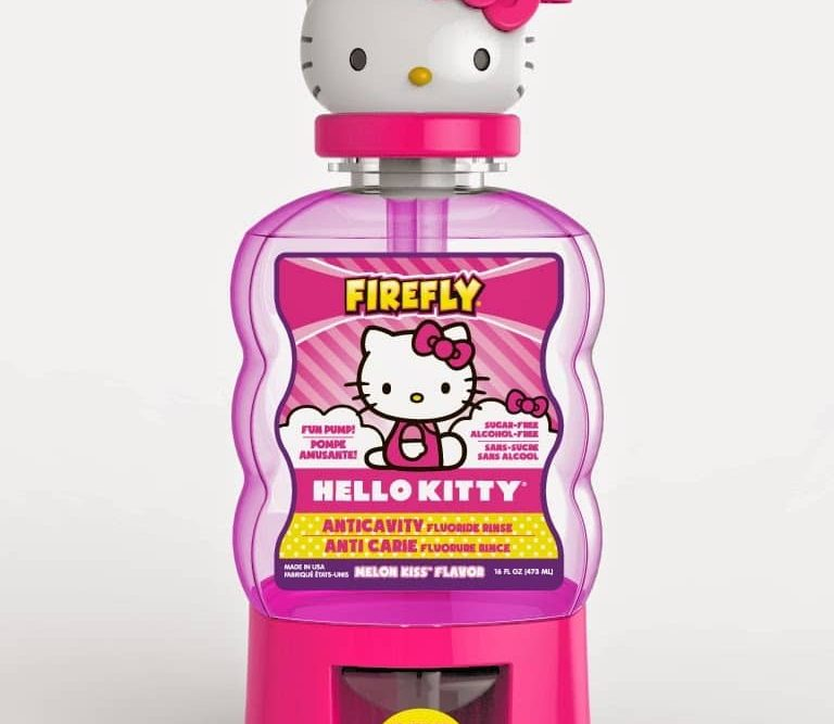 Firefly Hello Kitty Anticavity Mouth Rinse