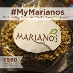 #MyMarianos-Twitter-Party-10-22-14