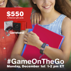 #GameOnTheGo-Twitter-Party-12-1-1pmEST