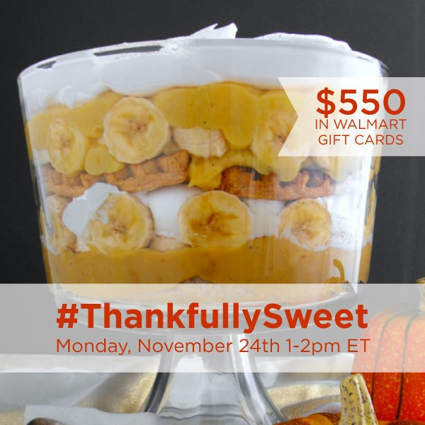 RSVP for the #ThankfullySweet Twitter Party 11/24