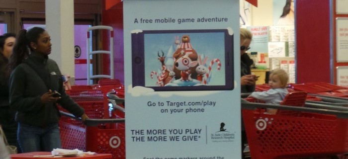 Target and Google Bring Mobile Fun to Your Target Run this Holiday Season with Bullseye's Playground