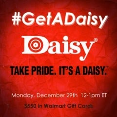 #GetADaisy-Twitter-Party-12-29-12pmEST