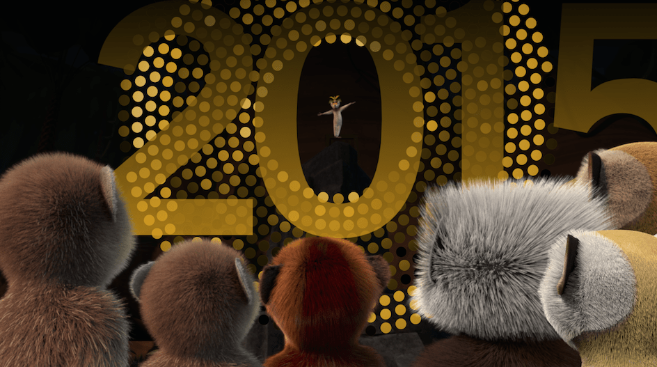 Ring in 2015 Before Bedtime with Netflix and King Julien #StreamTeam