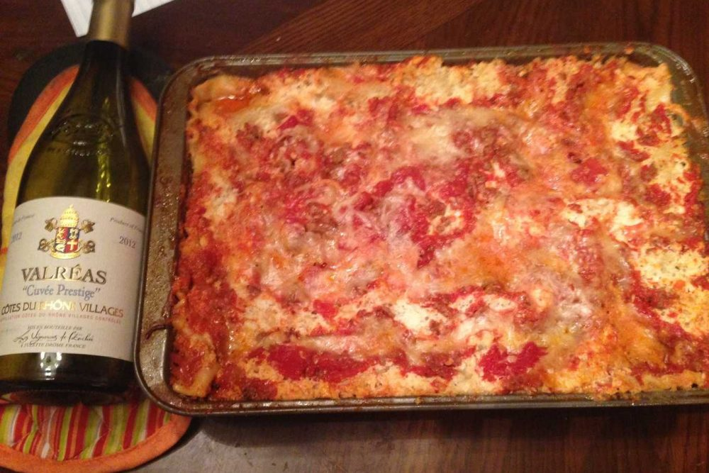 Red Gold Simple Gourmet Lasagna   Party