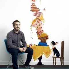 """""""FEAST"""" (Pictured) Director Patrick Osborne. Photo by: Ricky Middlesworth. ©2014 Disney. All Rights Reserved."""