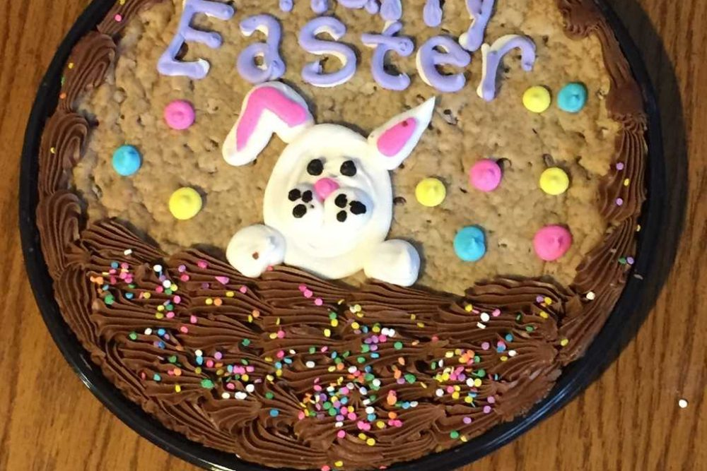 Something New For Easter Stories: Baby Bunny Cookie Cakes Debut & More