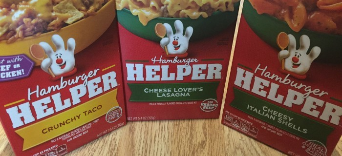 Hamburger Helper To The Rescue!  #freebeef