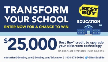 Win $25,000 in @BestBuy credit!