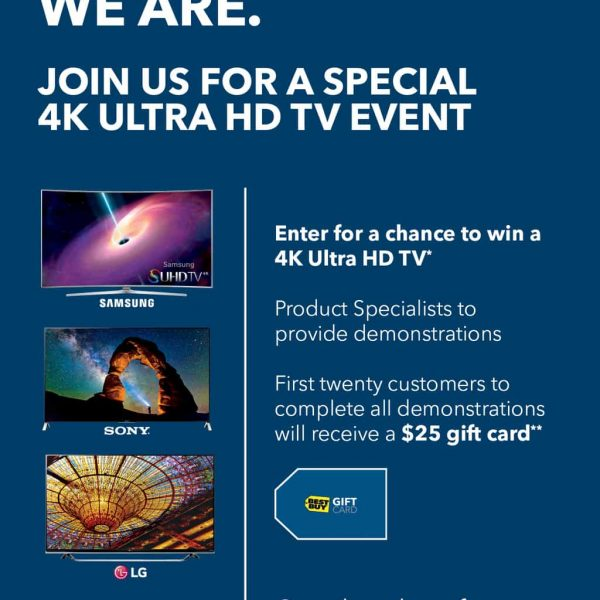 Best Buy – Helping You To Be 4K Ready!